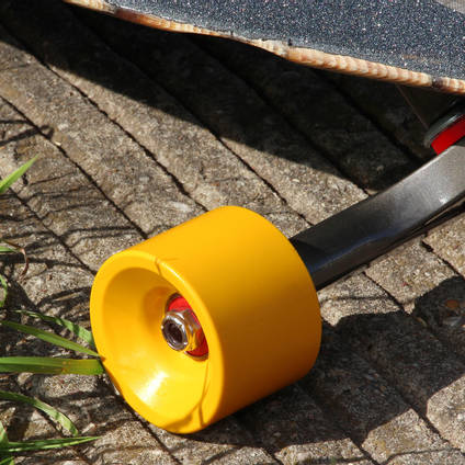 Lemon Yellow Pigmented Skateboard Wheel
